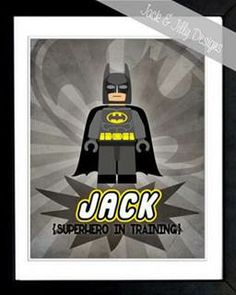 Jack would love this! batman lego 8x10 - Bing Images