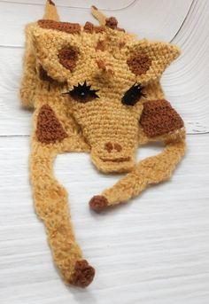 #Animalscarf #Giraffeart #Crochetgiraffe #Africananimal #Safarianimal