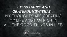 October 2014 Affirmation of the Month from Bob Proctor ... LOVE this!