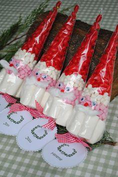 santa candy cone - LOS DETALLES DE BEA