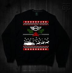 Mini Cooper Ugly Christmas Sweater - CTee Customs