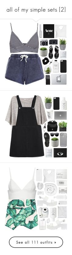 """""""all of my simple sets [2]"""" by feels-like-snow-in-september ❤ liked on Polyvore featuring New Look, Pull&Bear, Ron Dorff, SELECTED, Byredo, Jennifer Haley, Lord & Berry, Lux-Art Silks, H&M and Fujifilm"""