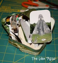 All of these tin craft ideas are fantastic!