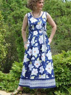 a2c4012e5dc69 The Tara Tank Dress is our latest super easy to sew design with no closures  to
