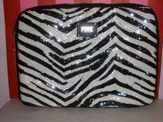 VS PINK Bling Zebra Print Laptop Case!