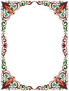 Undangan Pernikahan: Bingkai undangan dan clipart 17 Boarder Designs, Frame Border Design, Page Borders Design, Borders For Paper, Borders And Frames, Printable Border, Simpson Wallpaper Iphone, Wicca, Book And Frame