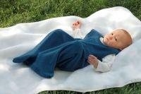 Engel Baby-Schlafsack (kbT Schurwoll-Frottee) Knöpfe unten