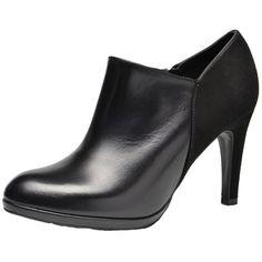 #Ankle #Boots mit #Glattleder - Schöne schwarze Ankle Boots von Cosmoparis. Diese Schuhe sind ein echtes #Highlight. Ideal für einen #femininen Look. - ab 163,00€