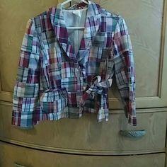 Selling this Super Cute Light weight Jacket in my Poshmark closet! My username is: crockett1815. #shopmycloset #poshmark #fashion #shopping #style #forsale #Jackets & Blazers