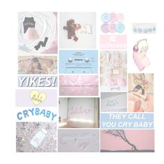 """""""Cry Baby- M(y)elanie M(other)artinez"""" by literallylester ❤ liked on Polyvore featuring KEEP ME, CASSETTE, Converse and Chicwish"""