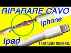 Come riparare cavo caricabatterie iphone, samsung a costo zero. Tecnica semplice ed efficace - YouTube