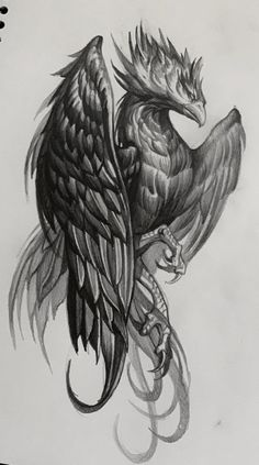Phoenix Tattoo For Men, Phoenix Bird Tattoos, Dragon Tattoos For Men, Phoenix Tattoo Design, Tattoos For Guys, Tattoos For Women, Badass Tattoos, Small Hip Tattoos Women, Side Hip Tattoos