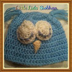 Sleeping Owl Owl, Crochet Hats, Beanie, Knitting Hats, Owls, Beanies, Beret