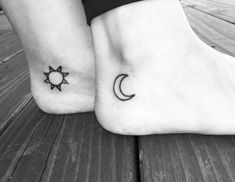 awesome Friend Tattoos - Create wonderful memories with mother daughter tattoos as permanent reminders to. Bff Tattoos, Tattoos Motive, Best Couple Tattoos, Trendy Tattoos, Body Art Tattoos, Cool Tattoos, Tatoos, Cute Wrist Tattoos, Female Tattoos