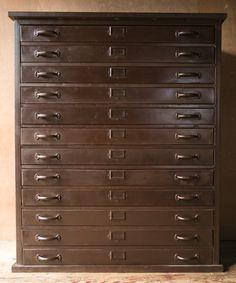 Vintage industrial antique dietzgen 20 drawer wood blueprint flat huge industrial office flat file cabinet malvernweather Choice Image
