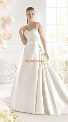 Sweetheart Glamorous & Dramatic Natural Wedding Dresses 2015