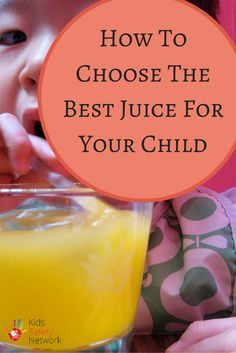 How to select the best juice for you child, with the lowest sugar content. Healthy Kids, Healthy Eating, Kids Allergies, Safety Tips, Child Safety, Low Sugar, Picky Eaters, Juices, Kids Learning