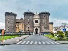 One of the main architectural symbols in the city, Castel Nuovo (also called Maschio Angioino) was built in 1282 for Charles I of Anjou, the King of Naples.