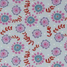 Organic cotton fabric - Dahlia - Sew Natural
