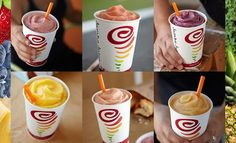 Jamba Juice smoothie recipes from the world's premiere provider of great tasting fruit smoothies and fresh squeezed juices. Make them at home!