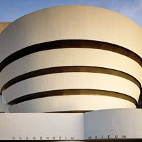 Completed in 1959, the Guggenheim's Frank Lloyd Wright–designed museum is among the 20th century's most important architectural landmarks.