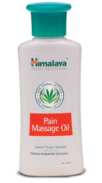 pain massage oil  Pain Massage Oil is a herbal oil which provides relief from neuromuscular pain and the pain associated with arthritis.  Directions for use:  Apply all over the body and gently massage if necessary. Follow with a warm shower.  Indications:  The Pain Massage Oil provides relief from:  Neuromuscular pain General body ache and pain. http://www.shopcost.in/himalaya+pain+massage+oil