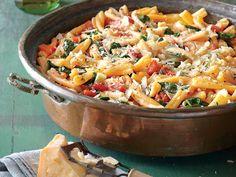 One-Pot Pasta with Tomato-Basil Sauce
