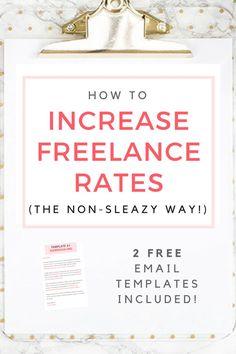 Freelance Writing Rates Raise Email Templates For Freelancers Free