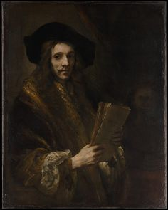 "Follower of Rembrandt (Dutch, third quarter 17th century). Portrait of a Man (""The Auctioneer""), probably ca. 1658–62. The Metropolitan Museum of Art, New York. Bequest of Benjamin Altman, 1913 (14.40.624) #mustache #movember"