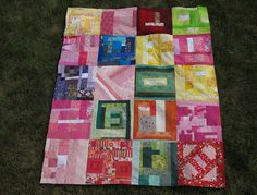Second Round of Just One Slab Quilts (one of my blocks!)