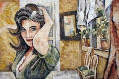 Jackline at the window by mosaici