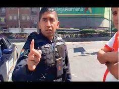 ARNE EXHIBE A POLICIAS MORDELONES EN TACUBAYA CIUDAD DE MÉXICO - PERISCOPE