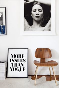 More Issues Than Vogue - Fashion Poster - Typography on Etsy, $17.49 AUD