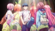 Read The Quintessential Quintuplets / no Hanayome full Manga chapters in English online! Chica Anime Manga, Kawaii Anime, Sword Art Online, Best Romance Anime, Otaku, Anime Recommendations, Anime Base, Cute Prom Dresses, Anime Shows