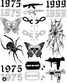 Sketch Tattoo Design, Tattoo Sketches, Tattoo Designs, Torso Tattoos, Vine Tattoos, Tattoo Flash Sheet, Tattoo Flash Art, Blackwork, Traditional Tattoo Black And White