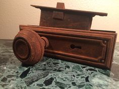 Rusty Antique Arts and Crafts Door Hardware Set Dating Between 1900's and 1920's. by MidCenturyAmericana on Etsy