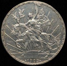 Moneda 1 Peso, Caballito 1913