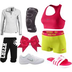 Cheer Practice – World Soccer News Cheer Practice Outfits, Cheer Outfits, Cheerleading Outfits, Sporty Outfits, Nike Outfits, Dance Outfits, Summer Outfits, Cheer Clothes, Workout Outfits
