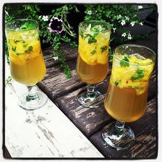 Delightful summer drink from Turnip & Bean! Alcoholic Drinks, Beverages, Ginger Peach, Summer Drinks, Road Trip, Beans, Mint, Cooking, Food