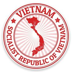 2 X Vietnam Vinyl Sticker Decal Laptop Car Bike Luggage Travel Flag Travel Stamp, Travel Logo, Car Travel, Vietnam, Suitcase Stickers, Travel Icon, Logo Sticker, Tampons, Travel Posters