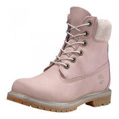 Timberland Damen 6-Inch Premium Waterproof Boot 196B Nubuk rosa