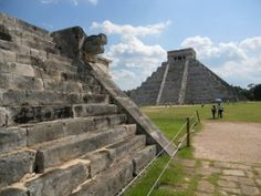 Maya Mexican Ruins at Chichen Itza