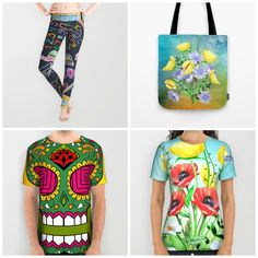 Ends TODAY (2/16) #sale #deals 15%off + #freeshippingworldwide on #leggings #alloverprintshirt #totebag - Check more designs at society6.com/julianarw