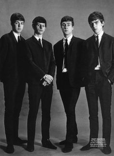 The Beatles - Paul McCartney, Richard Starkey, John Lennon, and George Harrison Les Beatles, Beatles Love, Beatles Photos, Beatles Band, Beatles Guitar, Ringo Starr, George Harrison, John Lennon, Hollywood Actresses
