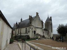 Le logis Royal du chateau de Loches,  Indre et Loire dept 37.