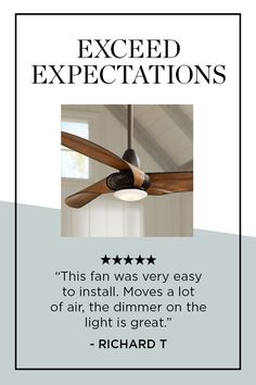 """Welcome the refreshing style and breeze of the Sleuth LED ceiling fan to your home. The handsome design comes in a rich oil-rubbed bronze finish, and is paired with three painted Kona finish molded ABS blades. An integrated LED downlight offers the added benefit of ambient lighting. Includes hand held remote control for ease of operation. - 56"""" Sleuth™ Oil-Rubbed Bronze LED Ceiling Fan - Style # 13X20 