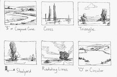 So my students have been learning about composition. It was really fun teaching this to my 3rd - 6th graders. Here are some examples I did ...