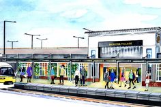 WE DON'T know if this is good news or bad news (probably both - good for your wardrobe, bad for your wallet), but discount designer shopping destination Bicester Village is about to be easier than ever to get to. The outlet shopping mall will be serviced by its own station as of next month