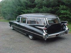 1959 Cadillac Hearse..Re-pin brought to you by agents of #Carinsurance at #Houseofinsurance in Eugene, Oregon