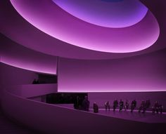"James Turrell ""I didn't want to use light as to illuminate other things but in the thingness of light itself."""